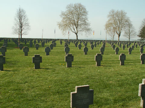 The German Cemetery at Cerny