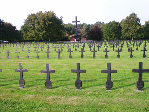 The German Military Cemetery at Malmaison