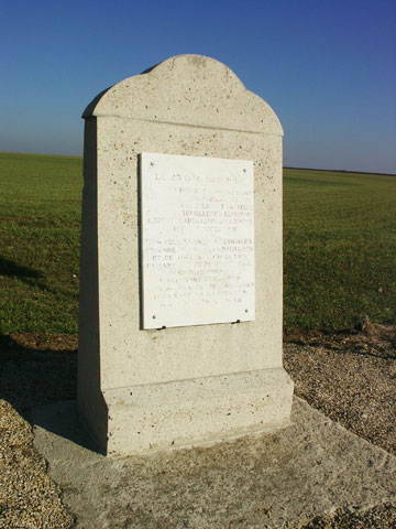 The monument to the 38eme DI