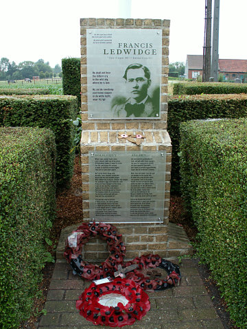 Edward Ledwidge Memorial