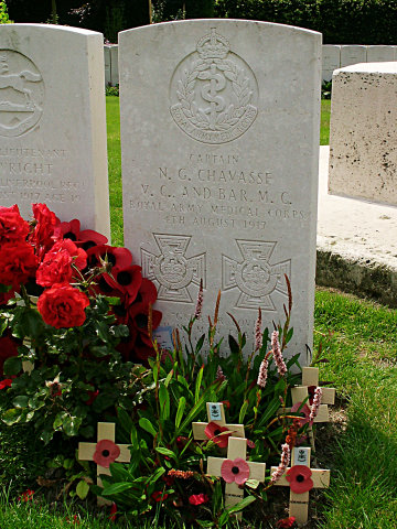 Noel Chavasse VC and Bar, MC