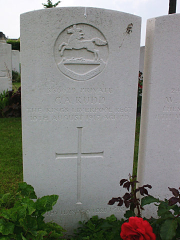 Private C Rudd