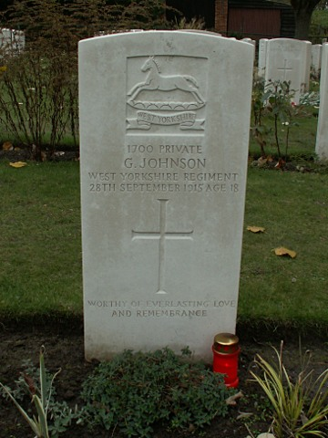 Private G Johnson