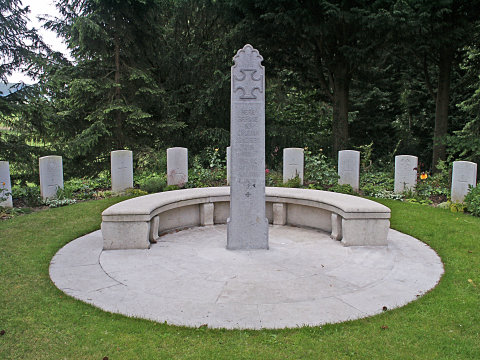 A German memorial to British soldiers