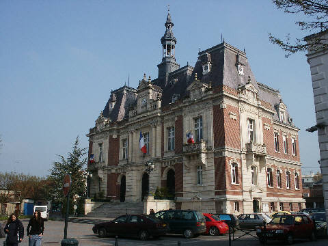 The Hôtel de Ville at Doullens