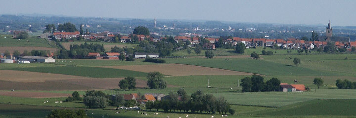 The view from Mont Kemmel