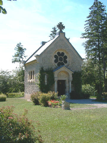 The chapel at Fleury