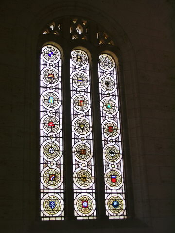 Left Hand Stained Window