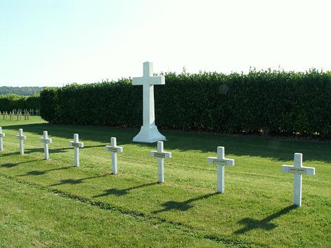 The Hermonville Cemetery Plot