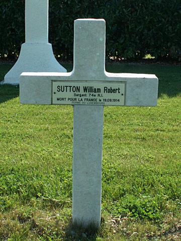 Sergent William Robert Sutton