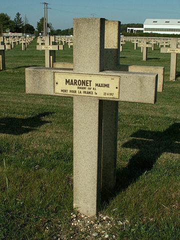 Sergent Maxime Maronet