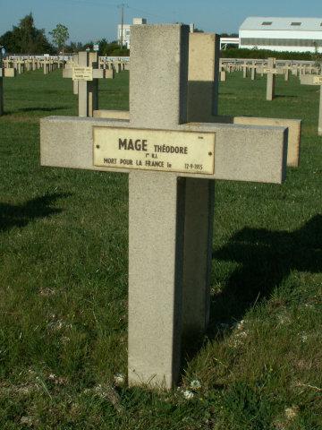 Soldat Théodore Mage