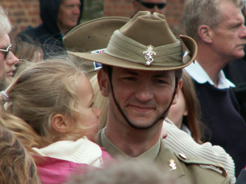 Bullecourt Anzac Day 2006