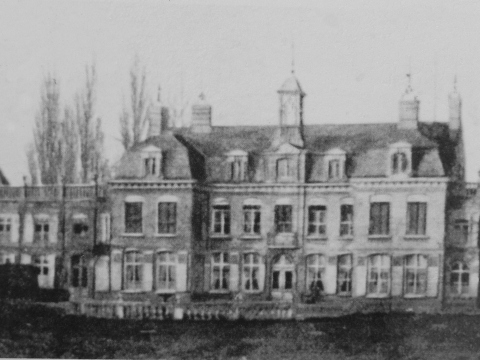 The château before the war