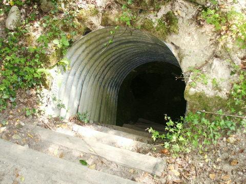 German shaft entrance