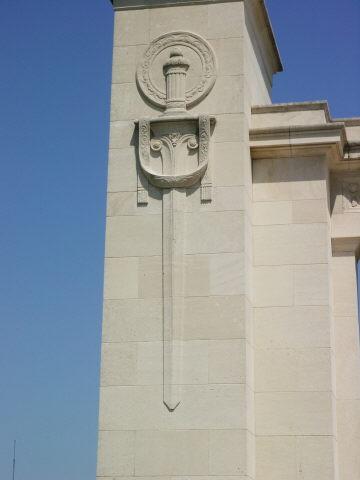 Sword on the final column