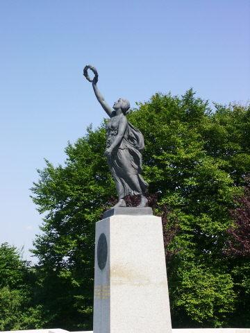 The Missouri memorial at Cheppy