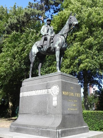 The Monument to Maréchal Foch