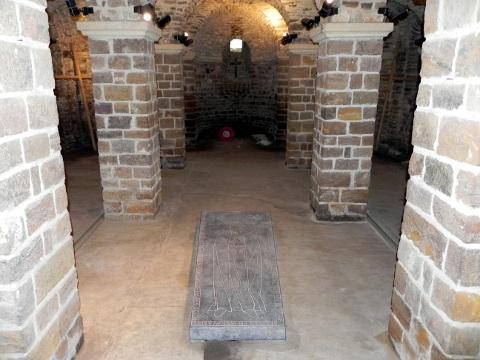 Adele's tomb at Mesen Church