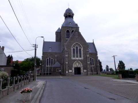 St Nicholas Church in Mesen