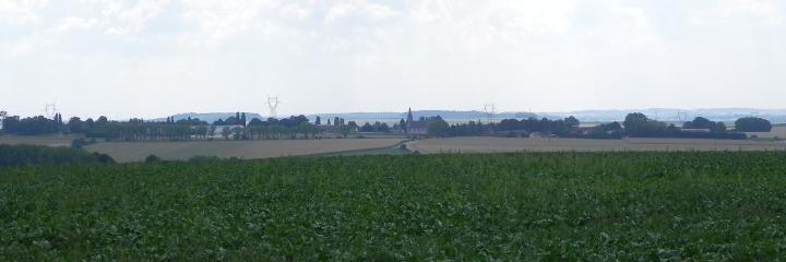 Guillemont from Maltzkorn Farm