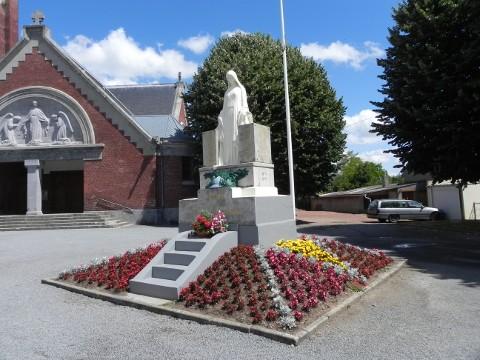 War Memorial at Festubert