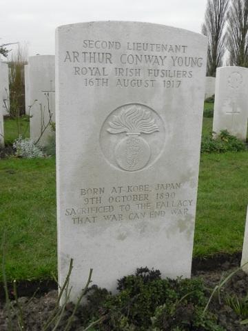 Second Lieutenant Arthur Young
