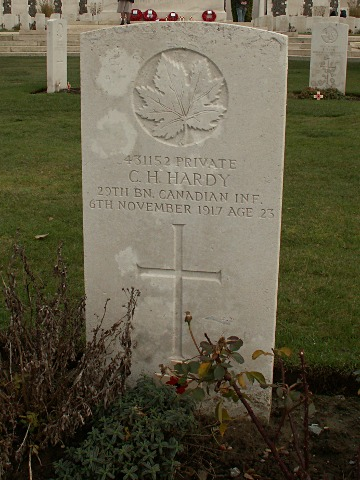 Private Charles Hardy