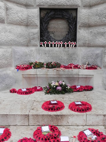 The central bunker at Tyne Cot