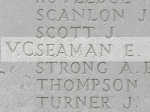 Ernest Seaman VC