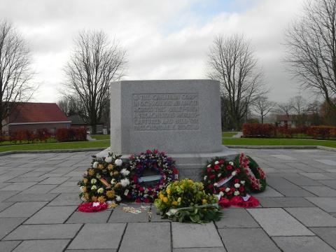 Canadian Monument at Crest Farm