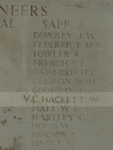 William Hackett VC