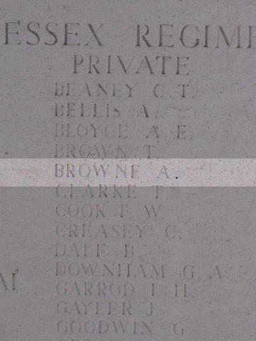 Private Archibald Browne