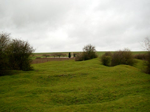 The Tambour Craters at Fricourt