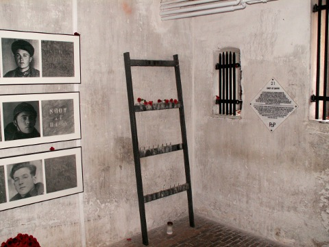 Condemned Cells at Poperinge