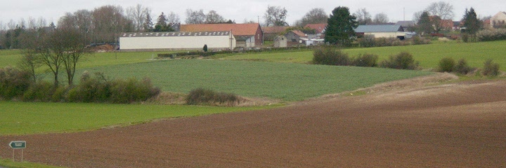 Looking towards the Mametz Cemetery from Mansell Copse