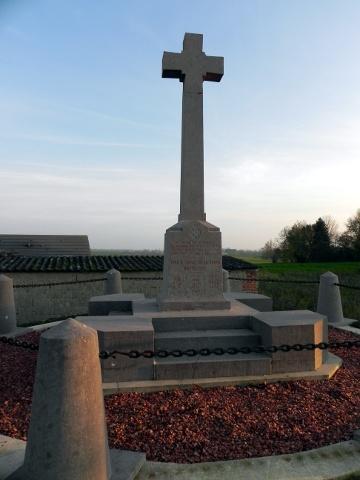 KRRC Memorial at Pozières
