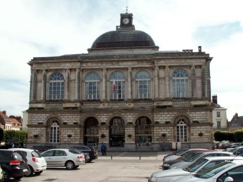 The Hôtel de Ville at St Omer