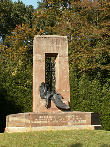 The Alsace-Lorraine monument at Rethondes