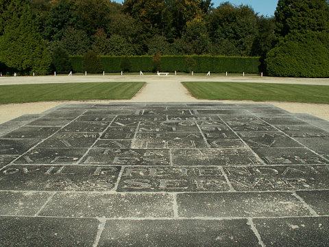 The central blocks at the Armistice memorial