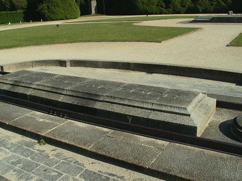 Foch's siding at the Armistice memorial