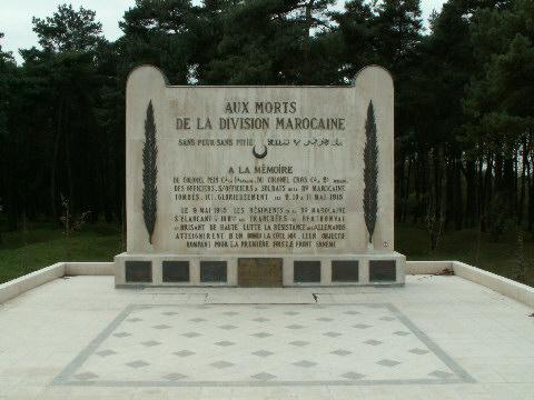 The Moroccan Division Memorial on Vimy Ridge