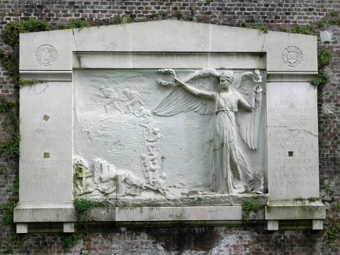 The New Zealand Memorial at Le Quesnoy