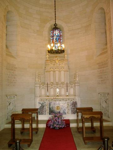 Aisne Marne US Cemetery - the Chapel