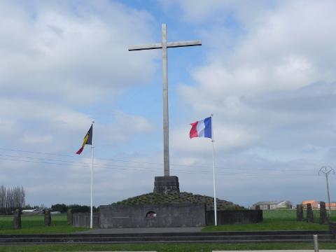 The Gas Memorial Cross at Steenstraat