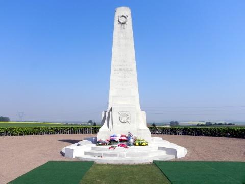 New Zealand Memorial at Longueval