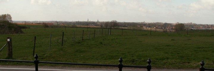 Hill 60, the view towards Ieper