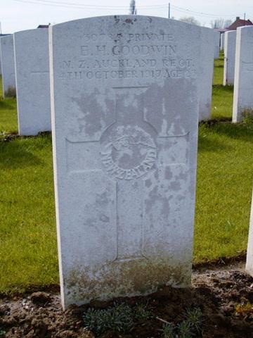 Private Ernest Goodwin
