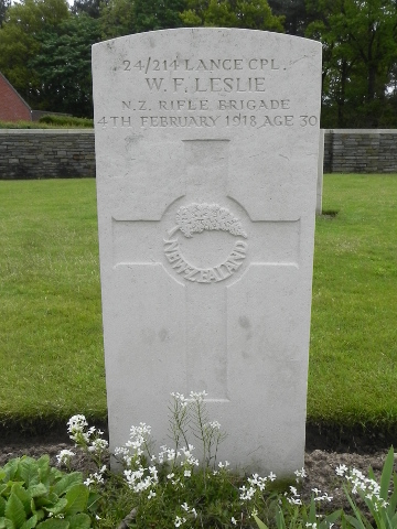 Lance Corporal William Leslie