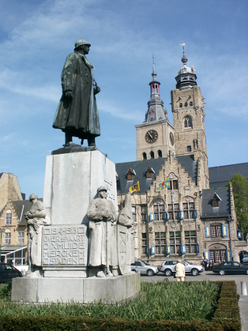 Colonel Jacques in Diksmuide